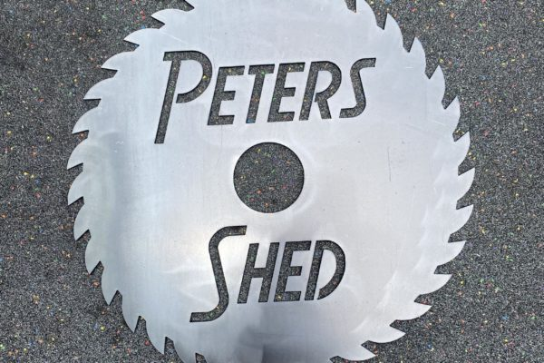 Peters Shed Sign